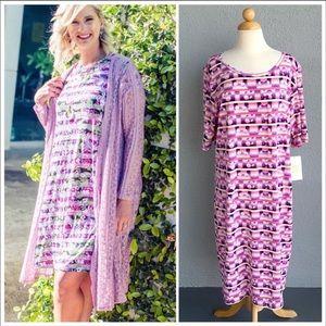 LULAROE Julia DISNEY Limited Dress Size 3XL